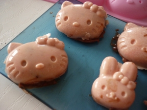 Hello Kitty en Chocolat et sa Ganache - image 5