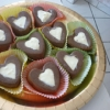 Recette Coeurs aux 2 Chocolats (Dessert - Entre amis)