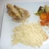 Recette Couscous au Poulet (Plat complet - Les Nouvelles Diététiques)