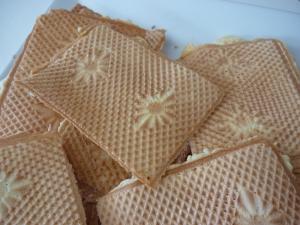 gaufrettes ou bricelets dessert recettes online. Black Bedroom Furniture Sets. Home Design Ideas