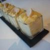 Recette Verrines de Boudin Blanc (Entrée - Gastronomique)