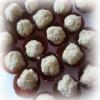 Recette Boulettes à la Poire, aux Kakis et Noix de Coco (Dessert - Gastronomique)