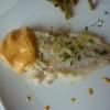 Recette Filets de Merlan Sauce au Corail d'Oursins (Plat principal - Gastronomique)