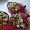 Recette Cocottes au Riz et Fruits de Mer (Plat complet - Gastronomique)