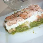 Mille-Feuilles au Saumon et Asperges
