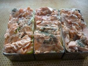Mille-Feuilles au Saumon et Asperges - image 3