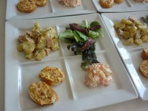 Assiettes de Salades + Tartines de Poutargue - image 1