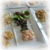 Assiettes de Salades + Tartines de Poutargue