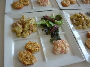 Assiettes de Salades + Tartines de Poutargue - image 2