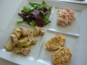 Assiettes de Salades + Tartines de Poutargue - image 3