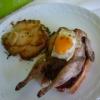 Recette Cailles au Foie Gras sur canapés aux Figues (Plat principal - Gastronomique)