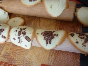 Tuiles aux Amandes et Chocolat - image 2