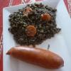 Recette Lentilles aux Saucisses Fumées (Plat complet - Cuisine familiale)