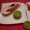Recette Langoustes au Caviar et Guacamole (Entrée - Gastronomique)
