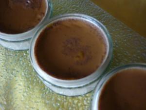 Petits Pots de Crème au Café Nappés de Sauce - image 2
