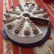 Gâteau de Chocolat à la Crème ( Schokosahne torte)