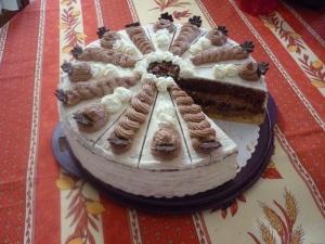 Gâteau de Chocolat à la Crème ( Schokosahne torte) - image 4