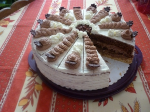 Gâteau de Chocolat à la Crème ( Schokosahne torte) - image 5