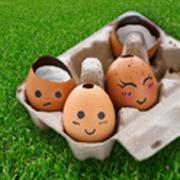 Oeufs Coque de Pâques